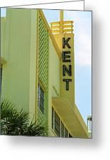 Miami Beach - Art Deco 10 Greeting Card