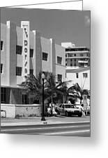 Miami Beach - Art Deco 24 Greeting Card