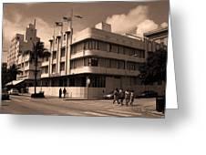 Miami Beach - Art Deco 35 Greeting Card