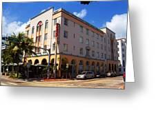 Miami Beach - Art Deco 36 Greeting Card