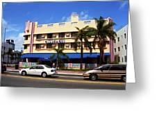 Miami Beach - Art Deco 38 Greeting Card