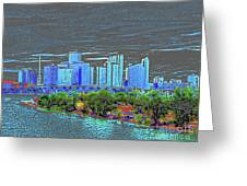 Miami Color Greeting Card