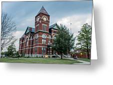 Miami County Courthouse 4 Greeting Card