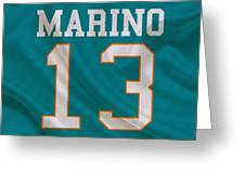 Miami Dolphins Dan Marino Greeting Card