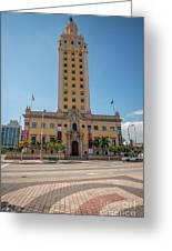 Miami Freedom Tower 3 - Miami - Florida Greeting Card