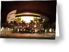 Miami Heat Aa Arena Greeting Card