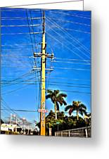 Miami Key West Greeting Card