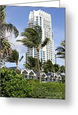 Miami South Beach Architecture Greeting Card