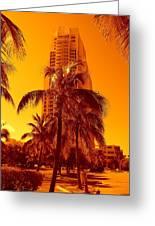 Miami South Pointe Iv Greeting Card