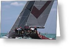 Miami Upwind Greeting Card