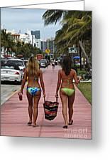 Miami Vice Greeting Card