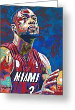 Miami Wade Greeting Card