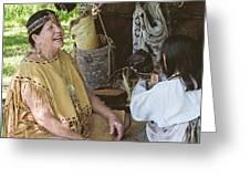Miccosukee Indian Tribe Greeting Card