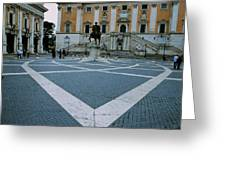 Michael Angelo's Campidoglio Greeting Card
