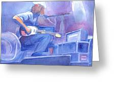 Michael Houser From Widespread Panic Greeting Card