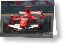 Michael Schumacher Canadian Grand Prix I Greeting Card