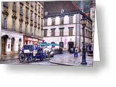 Michaelerplatz. Vienna Greeting Card