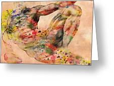 Michelangelo  Greeting Card by Mark Ashkenazi