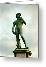Michelangelo's David 2 Greeting Card