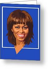 Michelle Greeting Card by Douglas Simonson