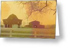 Michigan Barns Greeting Card