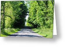 Michigan Country Roads 43 Greeting Card