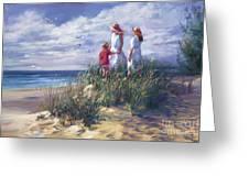 Michigan Shore Memories  Greeting Card