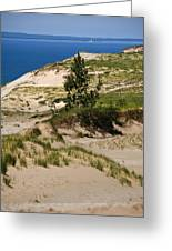 Michigan Sleeping Bear Dunes Greeting Card