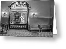 Michigan State Capitol 4th Floor Greeting Card
