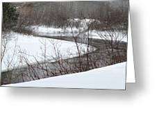 Michigan Stream Greeting Card