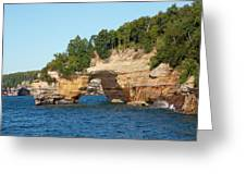 Michigan, Upper Peninsula, Pictured Greeting Card