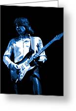 Mick Plays The Blues 1977 Greeting Card