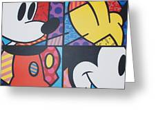 Mickey Greeting Card