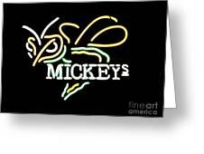 Mickeys Greeting Card
