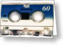 Micro Cassette 60 Greeting Card