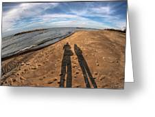 Mid Dec Day At The Beach...who Can Argue At Presque Isle State Park Series Greeting Card