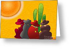 Midday Siesta Greeting Card