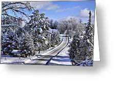 Middle Road Franklin Greeting Card