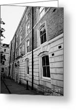 middle temple chambers London England UK Greeting Card