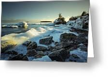 Middlebrun Bay Sunset II Greeting Card