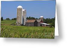 Middlebury Vermont Barn Greeting Card