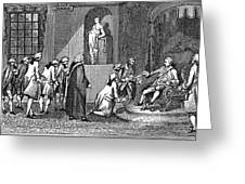 Middlesex Petition, 1769 Greeting Card