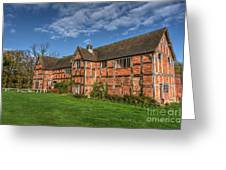 Middleton Hall Courtyard Centre Greeting Card