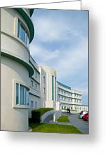 Midland Hotel In Morecambe Greeting Card