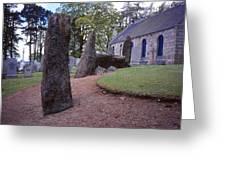 Midmar Stone Circle Greeting Card