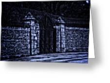 Midnight At The Prison Gates Greeting Card