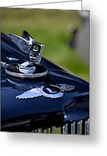 Midnight Blue Bentley Greeting Card