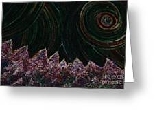 Midnight Forest By Jrr Greeting Card
