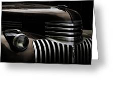 Midnight Grille Greeting Card