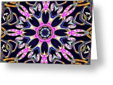 Midnight Magnetism Greeting Card